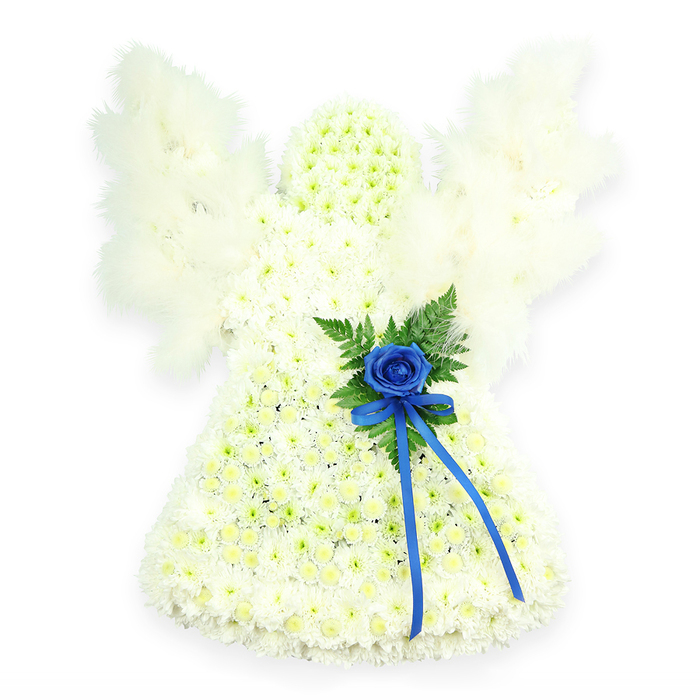 BLUE ACCENTED ANGEL TRIBUTE