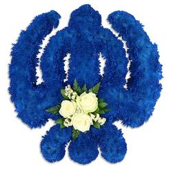 BLUE KHANDA SIKH TRIBUTE